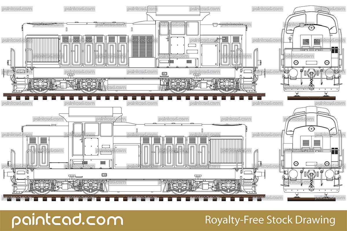 diagram of bulgarian diesel shunting locomotive ldh